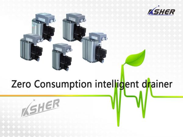 ASHER Air compressor zero consumption intelligent drainer