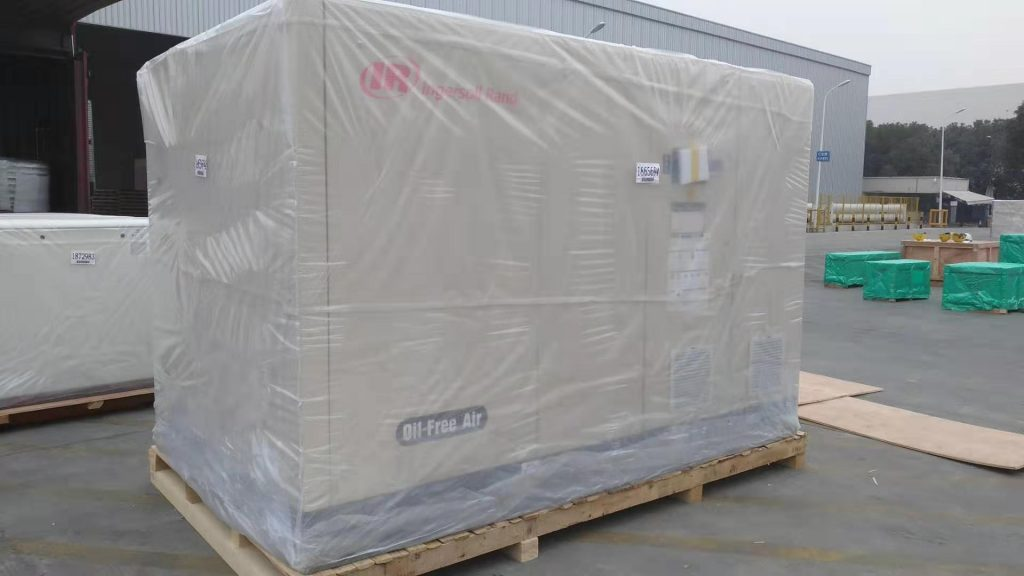 Ingersoll Rand 250KW Oil free air compressor SM250VSD