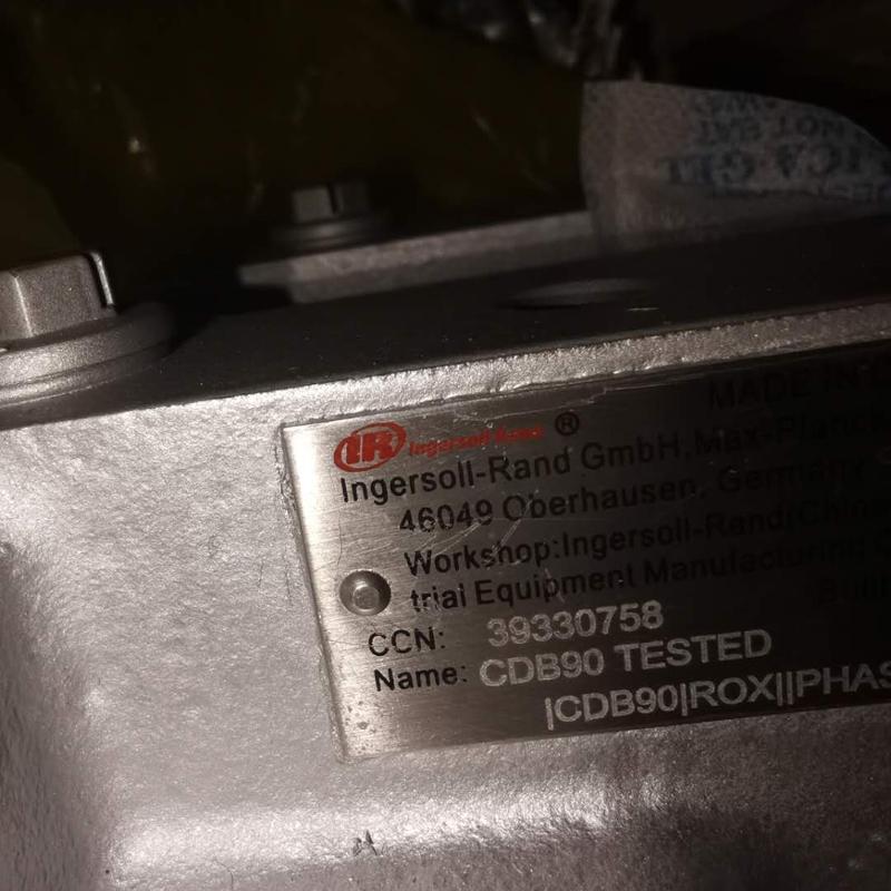 Ingersoll Rand Air End CDB90 HP AIR END