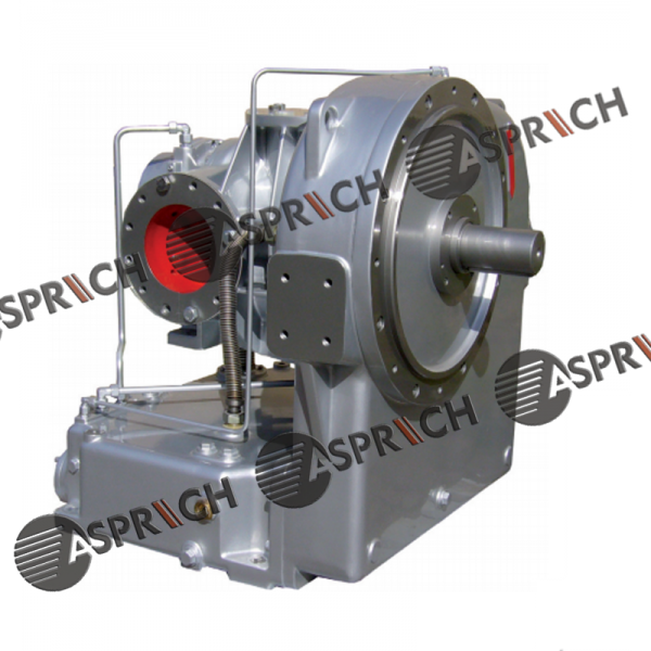 INGERSOLL RAND GHH RAND CD42S Oil free screw air compressor block air end and gear box assembly.