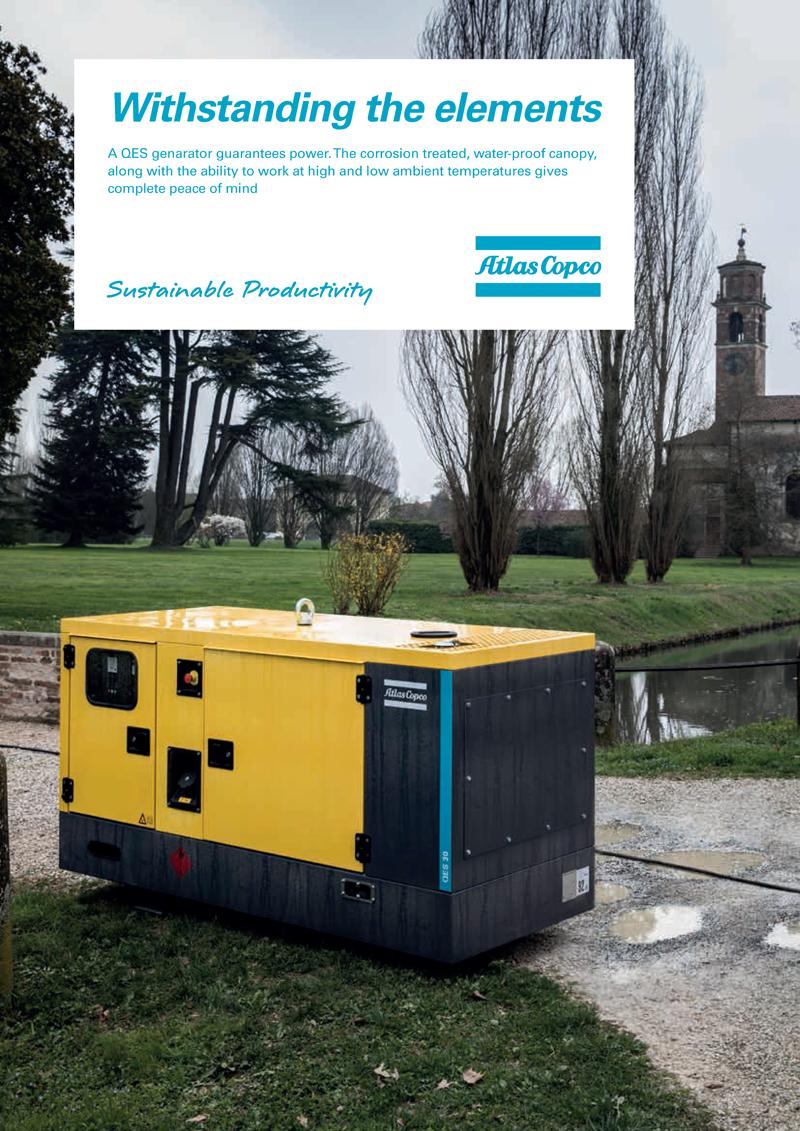 Atlas Copco QES Portable Generators