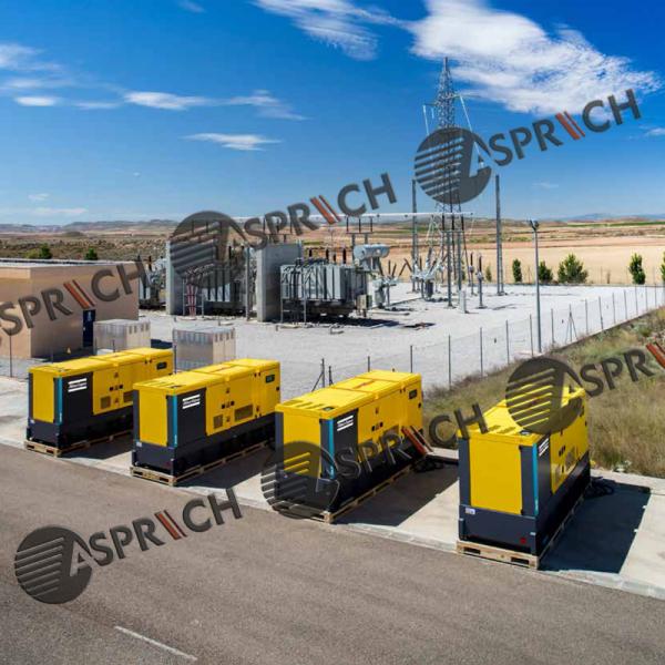 Atlas Copco QAS Generators the power of connectivity