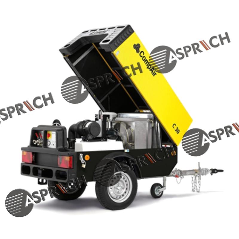 GARDNER DENVER COMPAIR Compact C30 Portable Screw Air Compressor