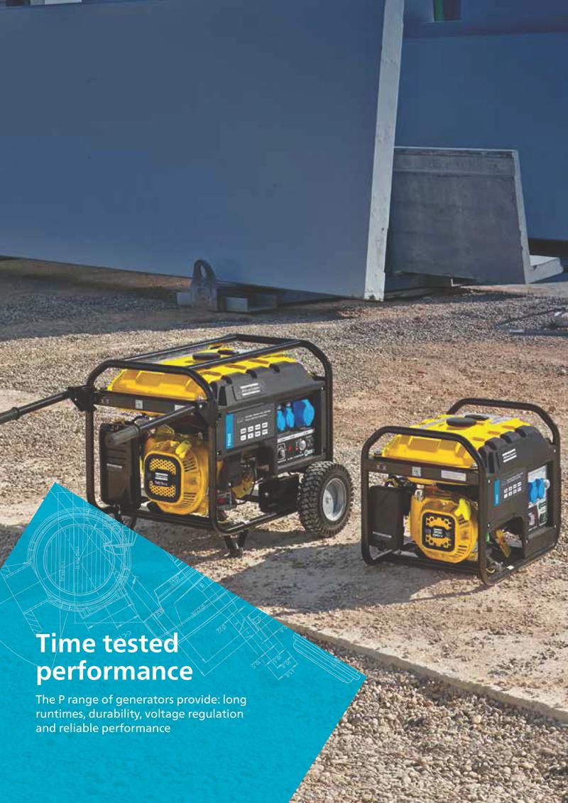 Atlas Copco QEP Portable Generator